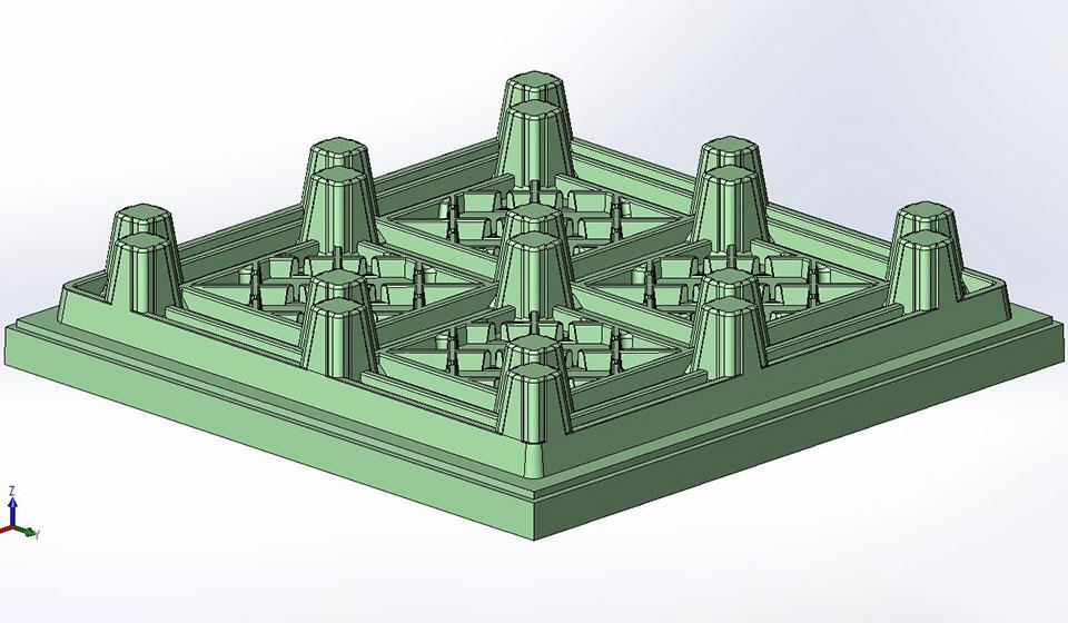 3D CAD Pallet